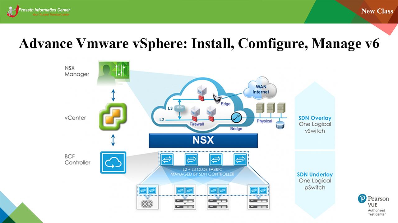 Advanced VMware vSphere Install and Configure v6