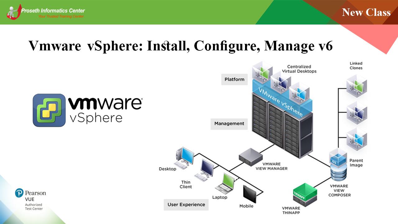 Vmware vSphere: Install, Configure, Manage v6